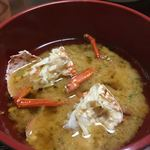 多賀田 - 伊勢海老アタマは味噌汁に