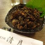 Seigetsu - 鰻山椒煮¥700