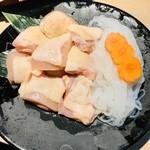 117374962 - 鶏すき鍋の鶏肉