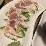 大岡山食堂 - 鳥刺し