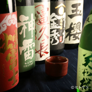 """飲み放題でも味わえる『広島・島根』が誇る究極の一滴""""地酒"""""""
