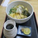 美曽乃 - 料理写真:とり天ぶっかけうどん