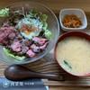 肉菜処 かえる屋  - 料理写真:ステーキ丼 1180円