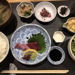 喜禄 - 喜禄御膳 1100円 これプラス焼き物と天ぷら