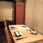 aozora - 案内されたテーブル席