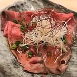 分讃岐うどんあ季 時譚 - ローストビーフ