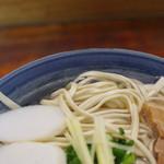 首里そば - 麺
