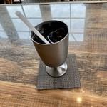 海カフェ イン ニシウラ - アイスコーヒー