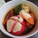ファームZOO - 料理写真:季節野菜ごろごろスープカレー(750円)