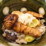 柚木元 - 松茸の炊き込みご飯