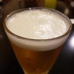 Tonkatsuniimura - 生ビール