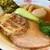 龍のひげ - 料理写真:龍のひげ醤油らぁめん(ニンニクサバ油)+窯焼チャーシュー+大盛…750+100+100=950円(税込)(大盛り分は別提供)