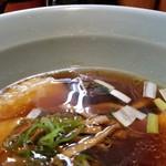 机上の空論 - スープの表情。