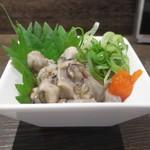 炭火焼 みや澤 - ガキの牡蠣酢