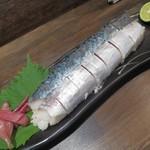 炭火焼 みや澤 - サバ寿司