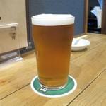 鉄板焼と醸造酒 Take-RHY - アメリカン ゴールデンエール