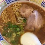 麺工房 東海 - 料理写真:中華そば麺大盛り(ライスセットで830円)