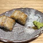 117399251 - 徳島県産天然うなぎの白焼き。