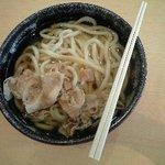 讃岐うどん総本舗  琴平製麺所 - 肉うどん