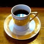 寿司鉄 - 寿司鉄 @平和台 ランチに付く食後のデミタスカップコーヒー