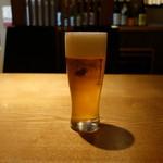 那古野 沢瀉食堂 - 生ビール(605円)
