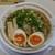 上町ラーメン - 料理写真:しょうゆラーメン+味付け玉子