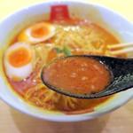 麺屋虎杖 - スープはカレー坦々味