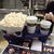 イオンシネマ鈴鹿 - 料理写真:ポップコーンペアセット(1150円)しお・バターしょうゆのハーフ&ハーフ  ソフトドリンクMサイズ2個(2019年9月)
