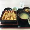 いちば亭 - 料理写真:海老天5本盛