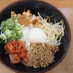 つけ麺 いろは - 料理写真:麺・イン・ブラック  ( ̄▽ ̄)