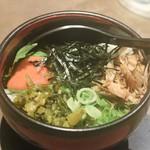 117405181 - ◆明太子と京風高菜の混ぜ飯 590円(税別)