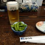 古民家麺処 かつら - 料理写真:生ビール~☆