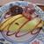 霧島たまご牧場 - ハンバーグプレート