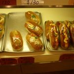 ぱんと洋菓子 オリムピックパン - 惣菜パン1