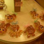 ぱんと洋菓子 オリムピックパン - 動物パン