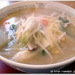 ゆうき食堂 - タンメン550円