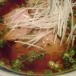 毛家麺店 - チャーシュー麺