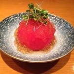 あい田 - トマトの土佐酢漬け サッパリして絶品です