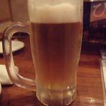 ちゅら海の台所 花花 - ドリンク写真:オリオンビール(生中)(530円)(2019年9月)