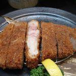 酒菜肉匠 ふるや - 厚切りロースカツ 越後「深雪餅豚」(2012年2月)