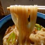 山の音 - 麺UP(カレーうどん)