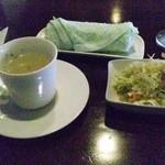 ナナコーヒーショップ - サラダとスープ