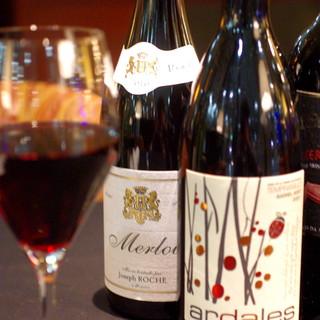 ワインのなかでも特にオーガニックにこだわって。