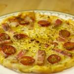 ビア トレイル - 気まぐれピザ!時価(笑)