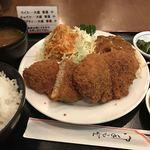 洋食 キャベツ - 料理写真:ミンチカツ定食       スパゲティー:大 & キャベツ:大