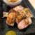 炭火と海鮮 大衆酒場くろき - 料理写真:もも焼き おろしポン酢〜柚子胡椒を添えて〜