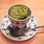 吉鮨 - 抹茶アイス