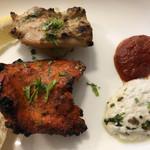 インドレストラン ムンタージ - 料理写真:チキンティッカ、マライティッカ