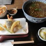 11743660 - 天ぷら定食(麺大盛り)