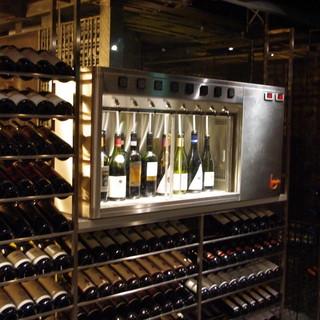 お気軽なテーブルワインからグランヴァンまで。